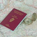 Passeport irlandais poru un bébé
